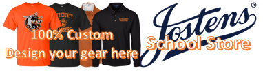 Order your 100% Custom BCHS gear at the Jostens School Store